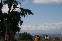 View from Lalibela, Ethiopia