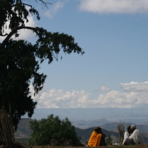 View from Lalibela, Ethiopia