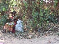 Lamana Woman Plastic Collector, Goa